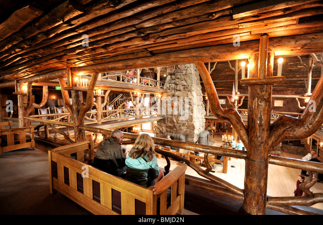 Log cabin inside stock photos log cabin inside stock Yellowstone log cabin hotel