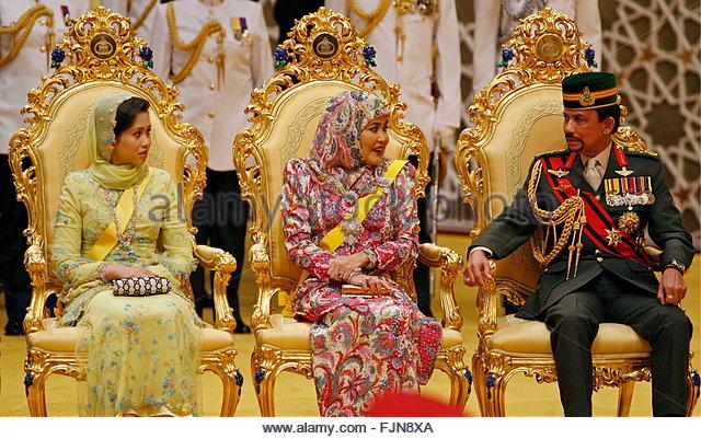 Brunei Sultan Hassanal Bolkiah Stock Photos & Brunei ...