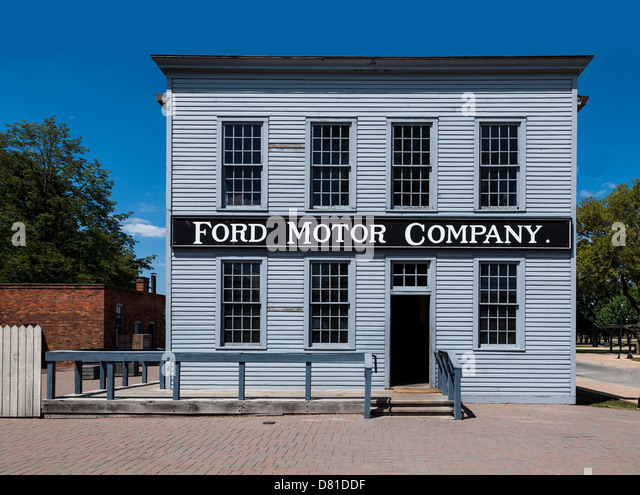 Headquarters ford motor company in stock photos for Ford motor company in dearborn michigan