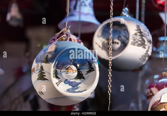 Christmas Baubles Germany : Munich nuremberg stock photos