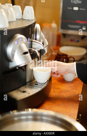 coffee and brewing machine