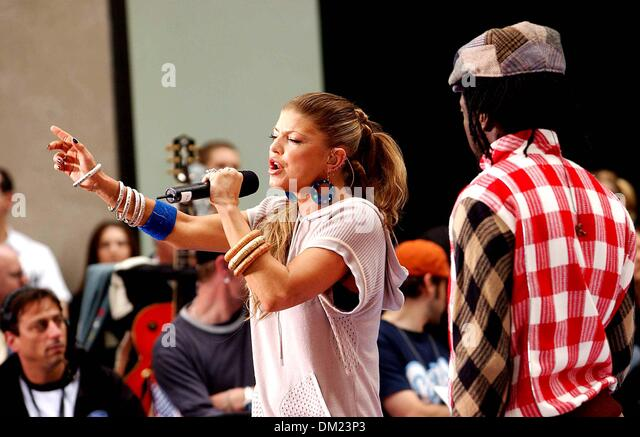 Nbc Today Show Concert Fergie Stock Photos & Nbc Today ...