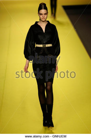 Miriam Ocariz in The Cibeles Fashion Week Autumn/Winter 09/10