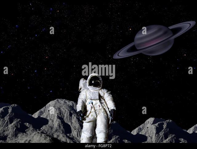 astronauts on saturn - photo #2