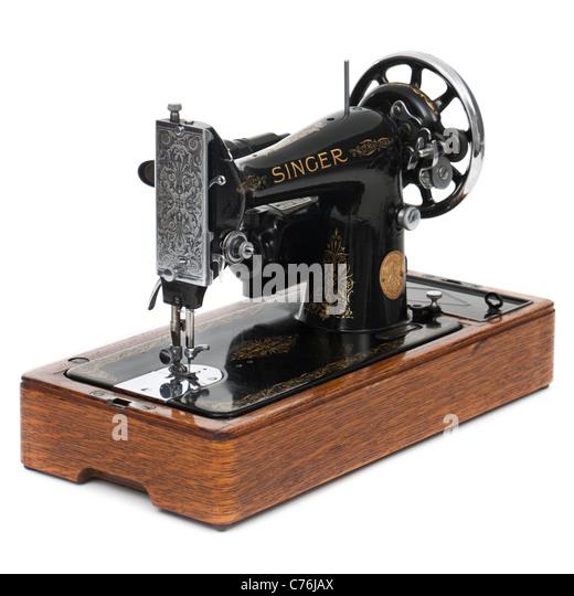 antique singer industrial sewing machine