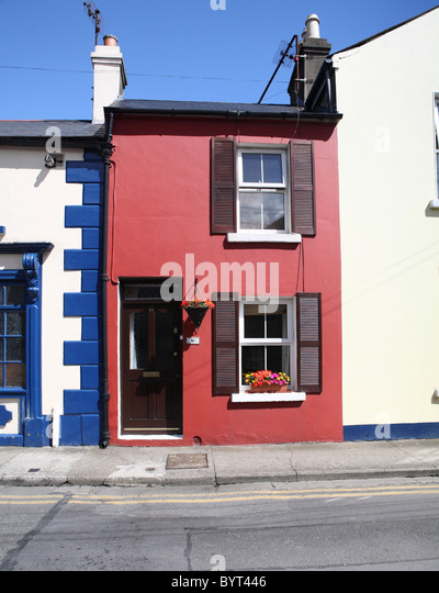 Wonderful Red Painted House   Stock Image