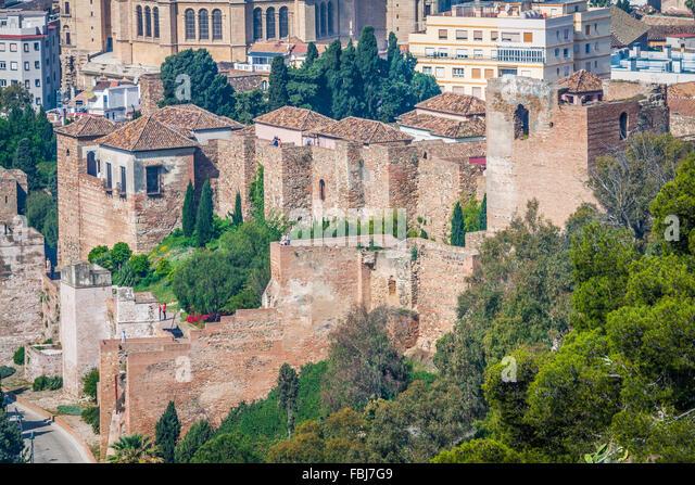 Alcazaba Of Malaga Stock Photos & Alcazaba Of Malaga Stock Images - Alamy