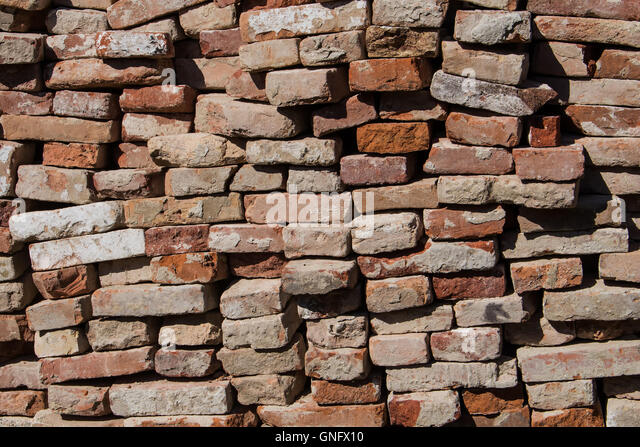 Recycled brick stock photos recycled brick stock images for Uses for old bricks