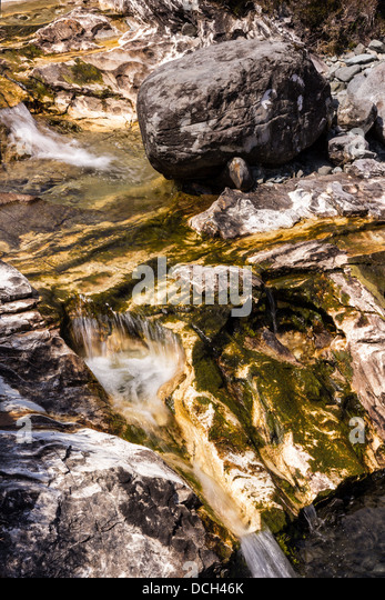 Rocky White Granite : Torrin stock photos images alamy