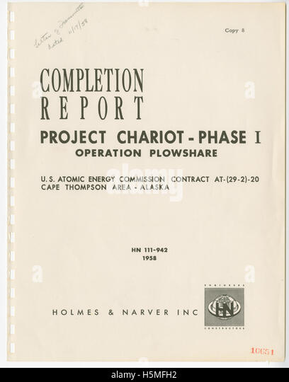 Phase 1 Completion Report, Page 1   Stock Image