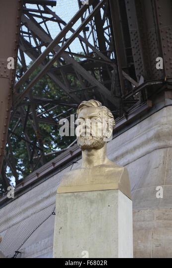 Gustave eiffel portrait stock photos gustave eiffel for Eiffel architect