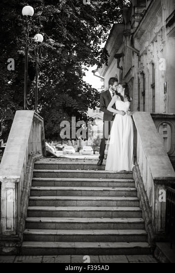 Black and white wedding photo stock photos black and - Fotos de parejas en blanco y negro ...