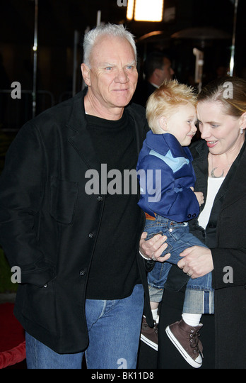 Malcolm Mcdowell Wife Kelley Son Stock Photos & Malcolm ...