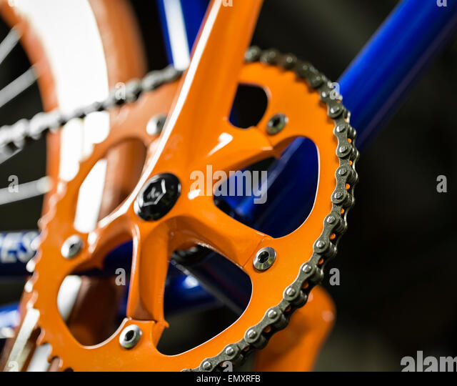Bicycle Chain Close Up Stock Photos Bicycle Chain Close Up Stock