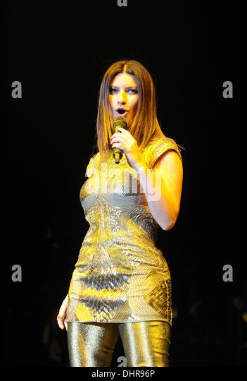 Laura Pausini In Concert Stock Photos & Laura Pausini In ...