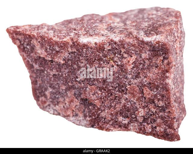 White Metamorphic Rock : Quartzite red stock photos images