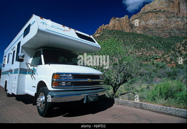 Mobile Home In Zion National Park USA Utah