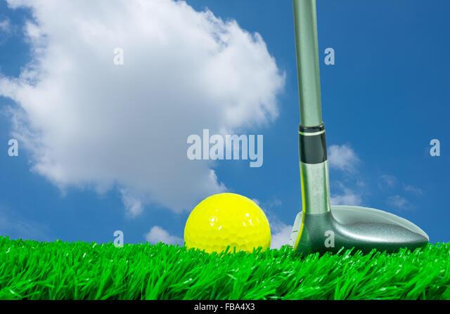 Golf Swing Fairway Stock Photos Golf Swing Fairway Stock