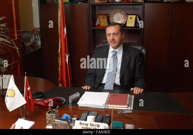 Turkey Home Office Intended Nov 25 2003 Istanbul Turkey Recep Tayyip Erdogan Prime Minister Of 25 2003 Istanbul Turkey Stock Photos