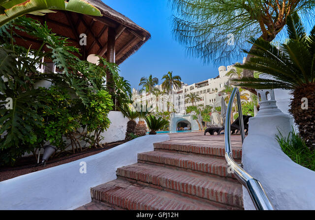 Jardin tropical tenerife costa adeje stock photos jardin for Jardin tropical tenerife
