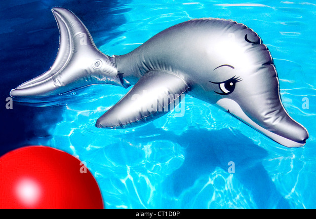 Dolphin inflatable stock photos dolphin inflatable stock for Aufblasbarer pool
