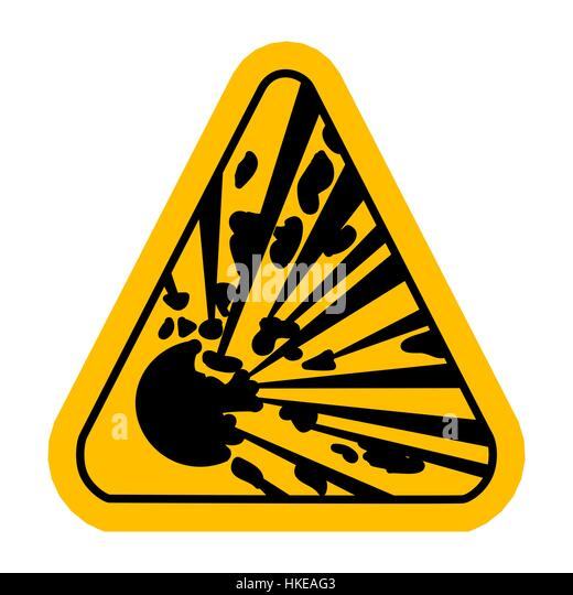 explosive caution stock vector images alamy