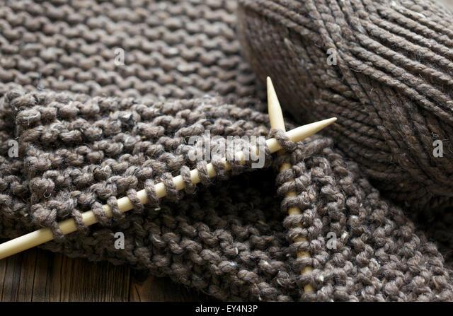 Knitting Chunky Yarn On Small Needles : Chunky yarn stock photos images alamy