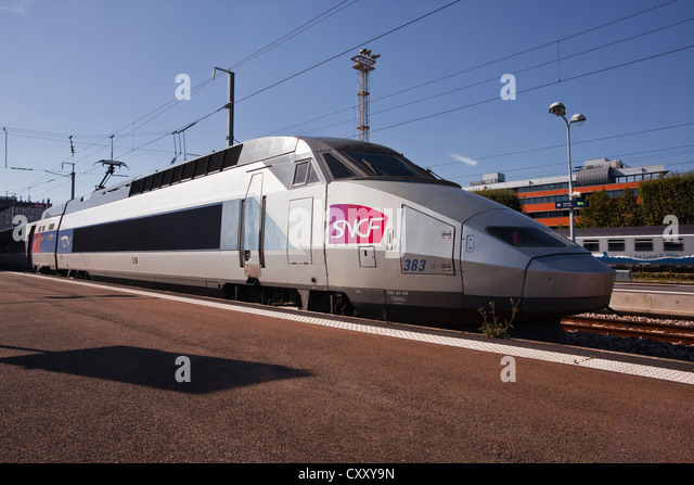 bullet train france stock photos bullet train france stock images alamy. Black Bedroom Furniture Sets. Home Design Ideas
