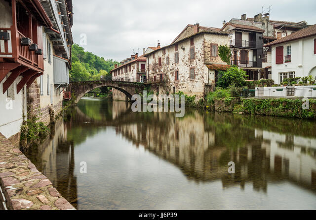 Starting point stock photos starting point stock images - St jean pied de port to santiago distance ...