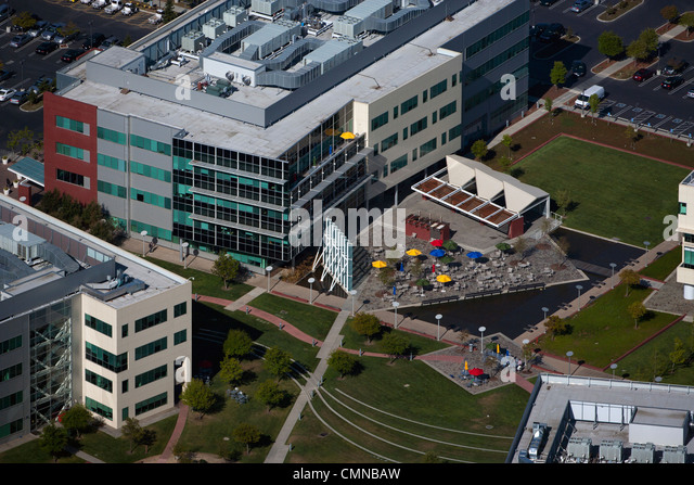 google office pictures california. aerial photograph google headquarters mountain view california stock image office pictures