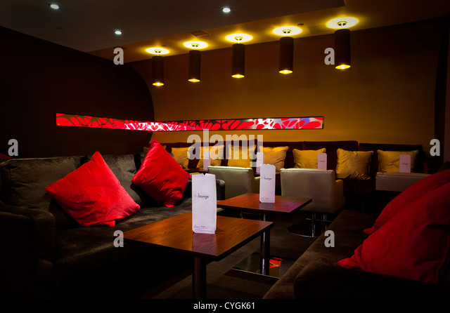 Cosy And Intimate Lounge Bar, Interior Design   Stock Image