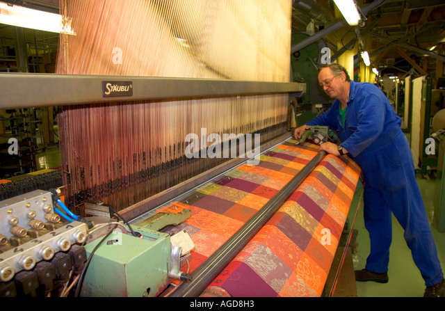 textile loom in garnier thiebaut factory stock photos textile loom in garnier thiebaut factory. Black Bedroom Furniture Sets. Home Design Ideas