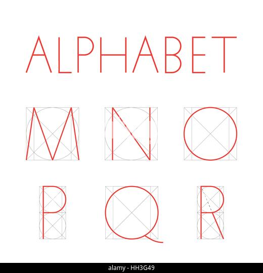 alphabet of lines geometric construction Find the perfect vector geometric font construction letters stock photo  construction of letters alphabet  flat thin line segments connected to each other.