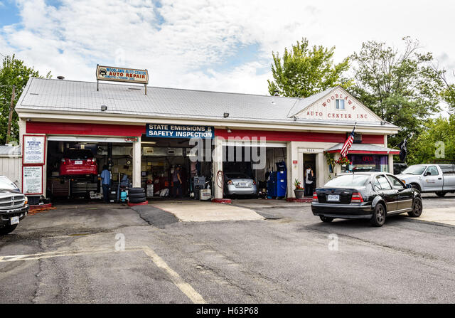 auto center garage service repair stock photos auto