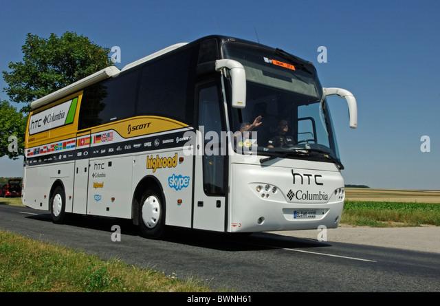 Team Sky Bus Stock s & Team Sky Bus Stock Alamy