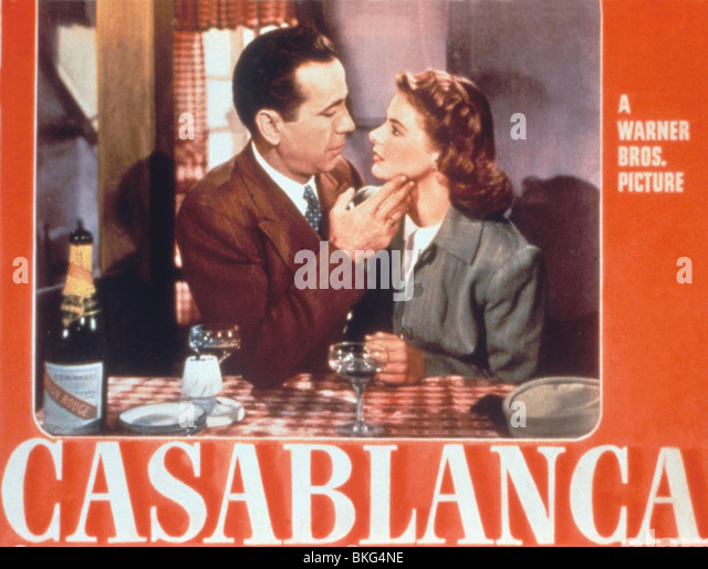 Casablanca Movie Poster Stock Photos & Casablanca Movie ...