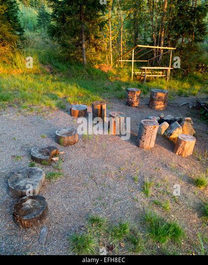 how to prepare campfire site