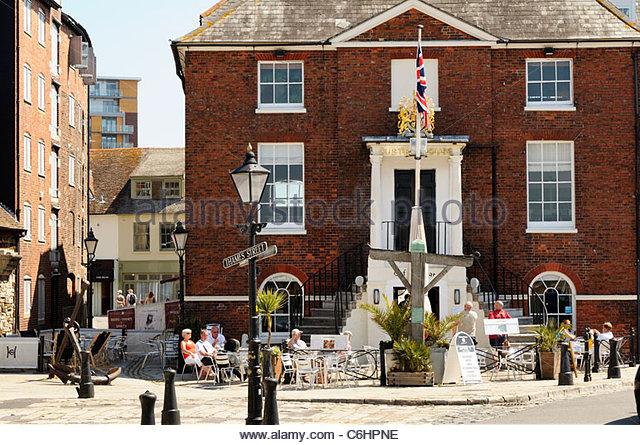 The Customs House Cafe And Bar Poole Dorset England