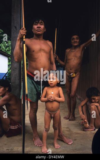 Yanomami Body Paint