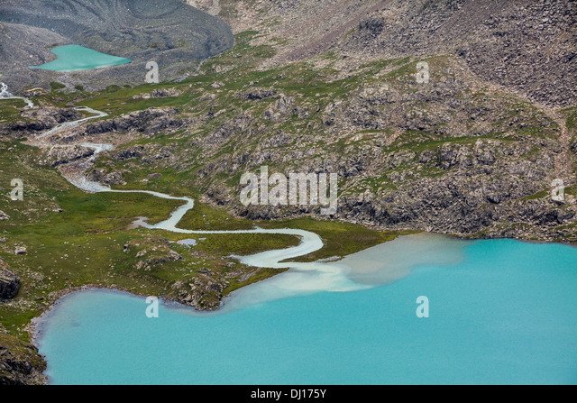 Alakul stock photos alakul stock images alamy for L shaped lake