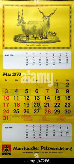 Jahreskalender Stock Photos & Jahreskalender Stock Images - Alamy