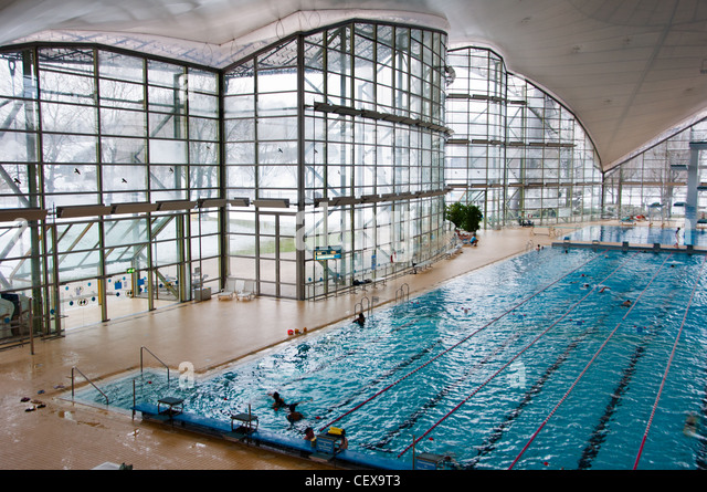 Public swimming pool interior stock photos public swimming pool interior stock images alamy for Swimming pool luxembourg kirchberg