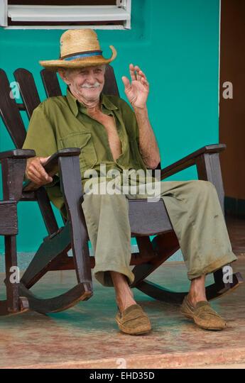 Old Man Rocking Chair Stock Photos Amp Old Man Rocking Chair