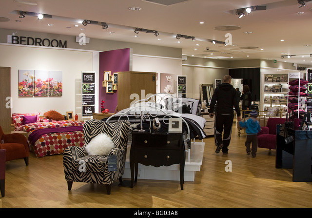 Next Home Store Edmonton London   Stock Image. Home Furnishings Shop Stock Photos   Home Furnishings Shop Stock