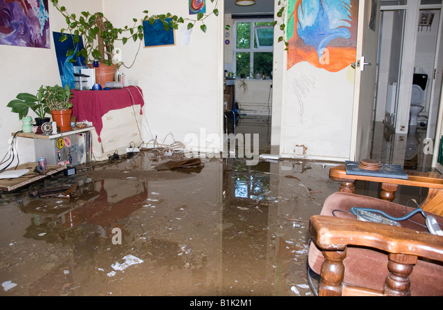 Flood Water Inside House Stock Photos & Flood Water Inside ...