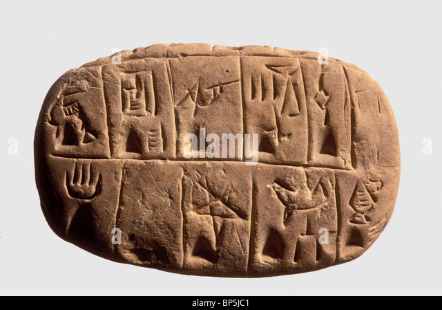 cuneiform writing originated with the sumerians