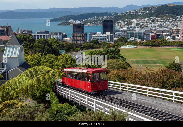 Wellington Cable Car Stock Photos Wellington Cable Car Stock