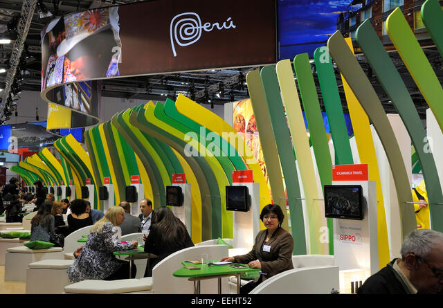 Expo Stand Bolivia : An exhibition stand stock photos
