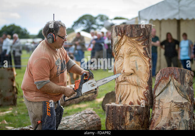 Chainsaw canada stock photos