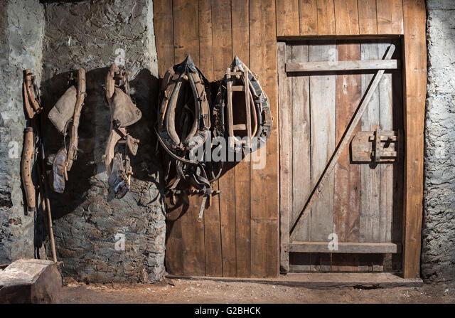 Farm Horse Decorative Metal Bridle